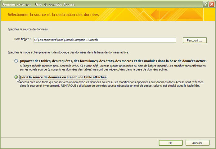 table de partition non valide lors de l'installation de Windows XP